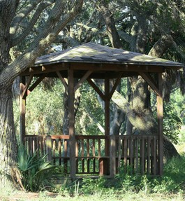 Outdoor Wood Patio Gazebo Clearance
