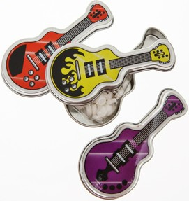 guitar party favor