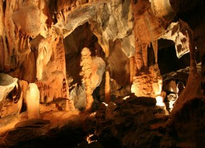 Stalagmites Made From Calcium, Cheddar Gorge