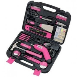 Ladies Pink Toolkit