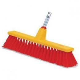 18-Inch Harper Brush 1183SC-7 Works Rough Brissle Outdoor Push Broom
