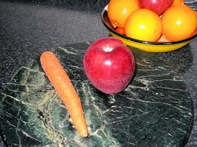 Apple Carrot Dyeing Processes