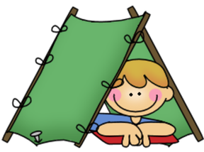 Boy in tent