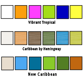 Tropical Color Schemes