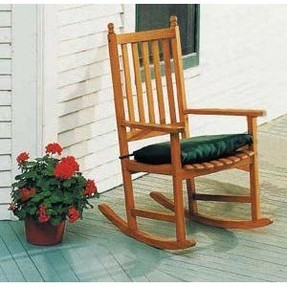 Country Porch World Rocking Chair