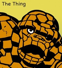 Marvel Comics Superhero The Thing