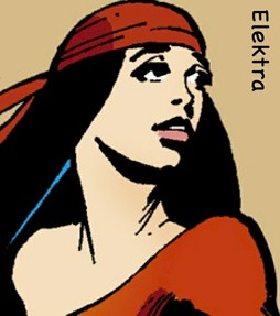 Marvel Comics Superhero Woman Elektra
