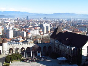Ljubljana, view from the Castle