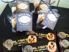 hunger games party favors