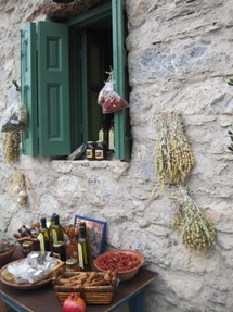 Shop in Olympos