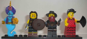 The best of the Lego minifigures Series 6 characters