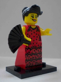 Lego minifigures Collection Series 6 red geisha girl