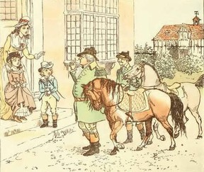PD illustration by Randolph Caldecott