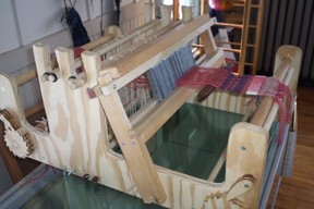 handmade table loom