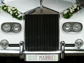 car used for wedding