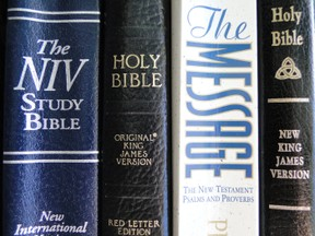 Bibles variety of translations