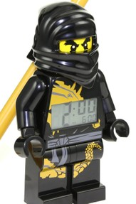 Lego Alarm Clock Black Ninja Cole
