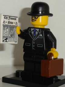 Lego Minifigures Series 8 Businessman