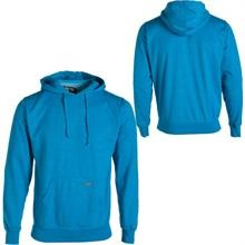Blue pullover hooded sweatshirt