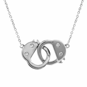 Chrstians handcuff necklace
