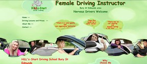 Website header shows a diverse selection of learner drivers