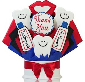 Dentist cookie bouquet