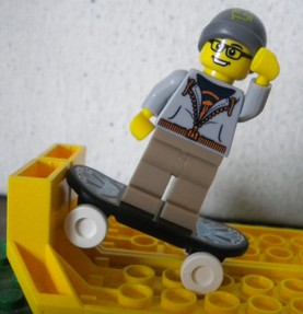 Lego minifigures collection 4 Skateboarder