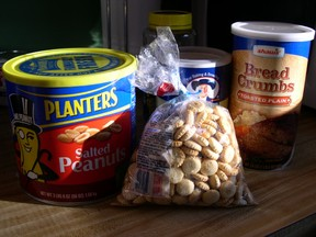 peanuts crackers ingredients