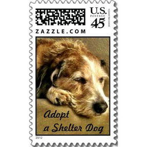 adopt a dog postage