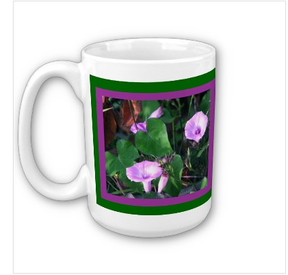 morning flower mug