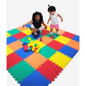 Rainbow Foam Play Mat