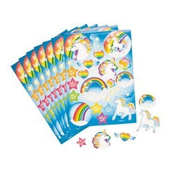 Unicorn Party Supplies - Stickers