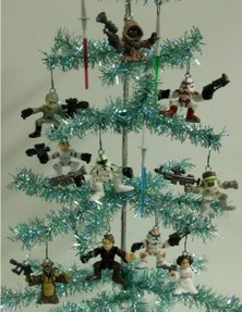 Image: Star Wars Christmas Tree Ornaments