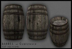 Image: Gunpowder Barrels