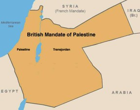 Image: British Mandate of Palestine