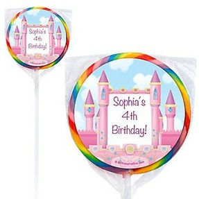 personalized princess party favors