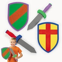 Foam Swords and Armor Sets