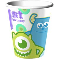 Monsters Inc 1st Birthday 9-oz Cups