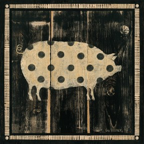 Polka Pig by Lisa Hilliker from Allposters.com