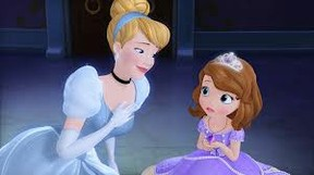 Sofia The First with Cinderalla