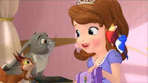 Sofia The First talking to animals