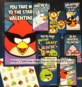 angry birds valentines