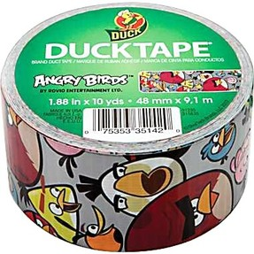 angry birds duct tape