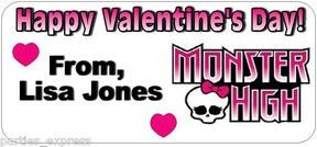 monster high valentine cards