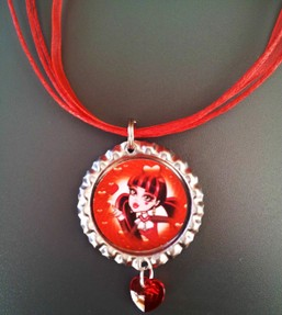monster high necklace valentine