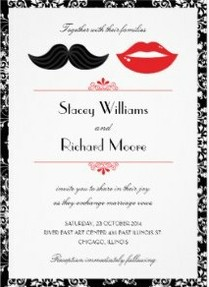 mustachelipsweddinginvitations