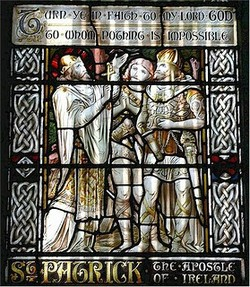 Image: St Patrick Stained Glass Window