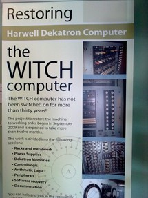 The project brief for the restoration of the Harwell/Witch computer