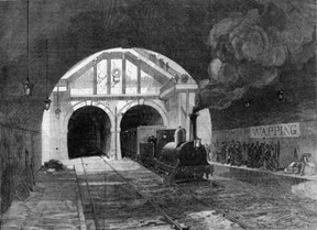Thames Tunnel Train