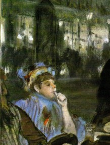 Degas Women on a terrace, evening